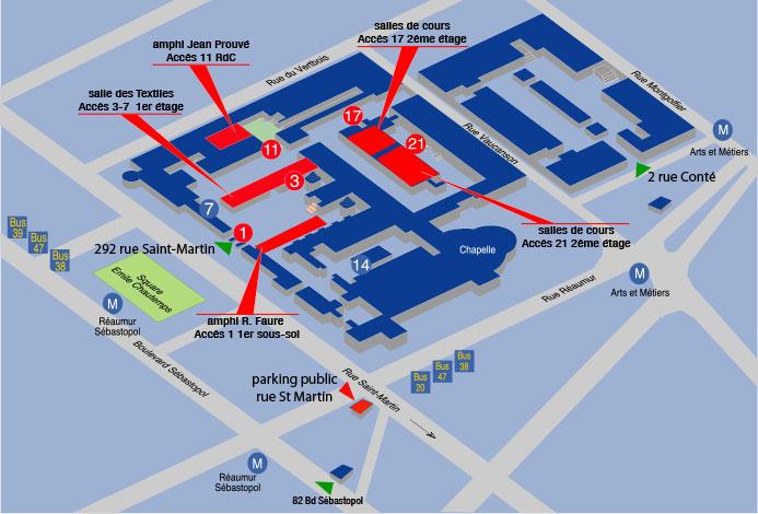 Plan accès cnam doctorales SFSIC 2013 - DICEN IDF